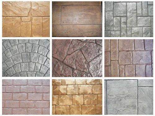 Stamp Concrete Moulds