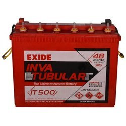 IT500 Exide Inva Tubular Battery, Capacity: 100-150 Ah, 12 V