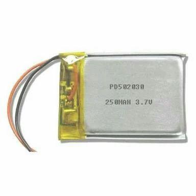 250mAh Lithium Polymer Battery