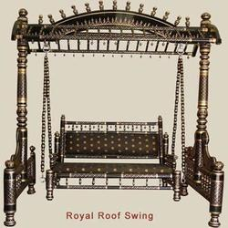 Wooden Swing -Royal Roof
