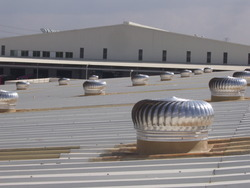 Wind Turbine Roof Ventilators