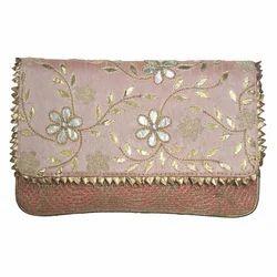 Silver Golden Gotta Clutch Bag