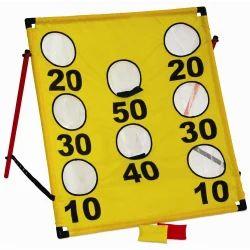 Vinex Yellow Target Toss - Numbers