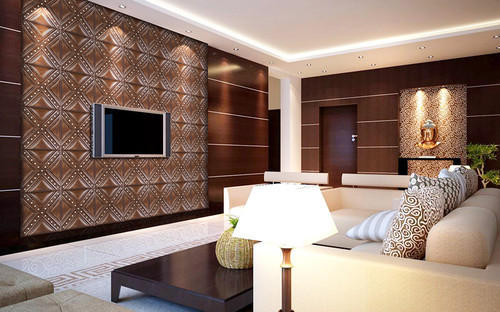 Pvc Panels For Drawing Rooms At Rs 15 Raining Feet Polyvinyl Chloride Panel प व स प नल Classic Interiors Patiala Id 12626504355