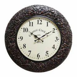 Wood Handcraft Wall Clock