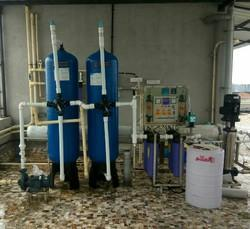 3000 LPH FRP Revers Osmosis Plant