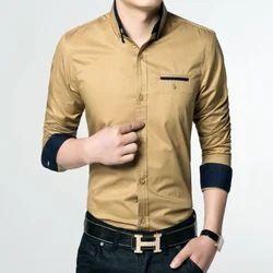 Cotton Men's Partywear Shirt