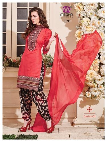 10ab6de7c6 Latest Indian Pure Cotton Salwar Kameez at Rs 810 /pcs | New Textile ...