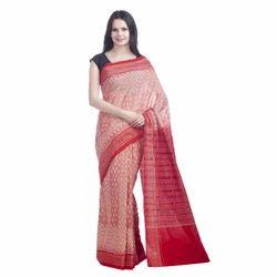 Mesmerizing Sambalpuri Handwoven Cotton Saree