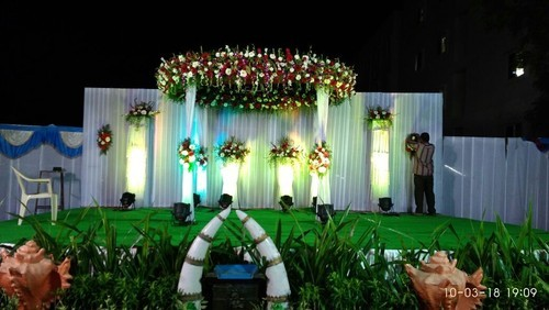 Reception Stage Decoration Services In Uppal Hyderabad Chandrika