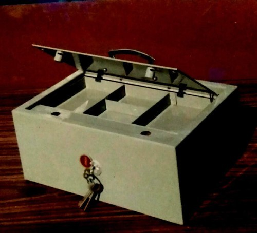 RMF Steel Cash Box, For Office