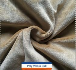Poly Velvet Fabric