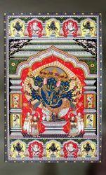 Panchamukhi Ganesha Painting