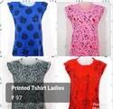 Printed Ladies T Shirts