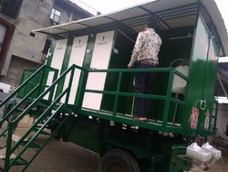 6 Seater Mobile Toilet Van