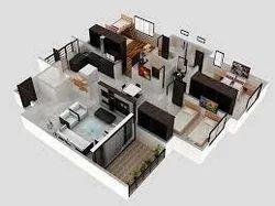3bhk Flat Designing Services Flat Designing Service Expansse Interior Design Decor Mumbai Id 10531864430