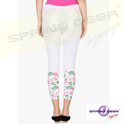 Small Printed Jersey Leggings