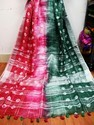 Linen linen digital daying saree