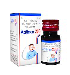 Azithromycin - 200 Mg Suspension