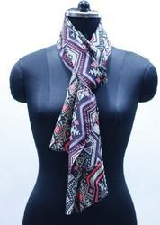 EGSC00038 Abstract Print Cotton Scarf