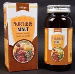 Nutribis Malt Ayurvedic Nutribis Fruit Malt with Herbs, 400 Gm, Packaging Type: Bottle