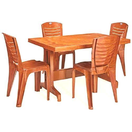 Mangowood Rectangular Nilkamal Ultima Dining Table Set Rs