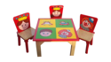 Multicolor Wooden Kids Chair