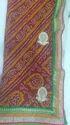 Bandhani Work Saree