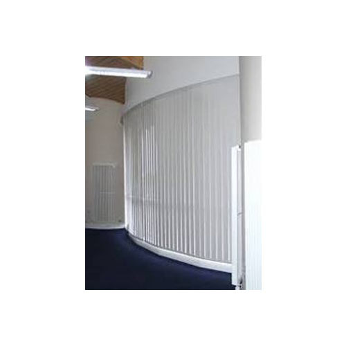 Curved Venetian blinds