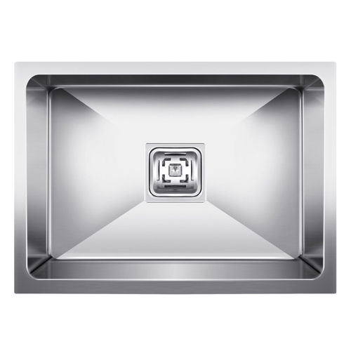 Stainless Steel Idoos Single Bowl Sink (grade 304 Ss), Finish Type: High Gloss & Matt