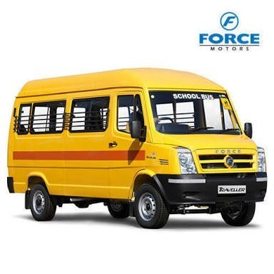 Yellow Force Traveller School Bus 3350 Rs 1061489 Unit