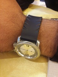 Silver Fastrack Watch, 124