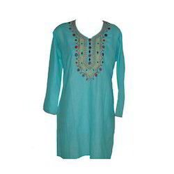 Cotton Kurti Embroidery Services