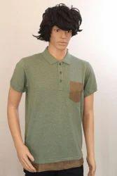 Mens Cotton Plain Polo T Shirt, Size: S-XL