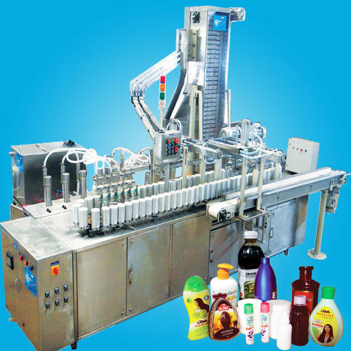 Bottle Filling & Capping Machine - Automatic Bottle Filling and