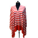 Allover Stripes Merino Super Wool Scarves