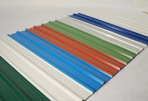 Colour Coated Sheets Galvanized Color Coated Sheet