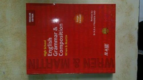 Wren N Martin English Grammar Book