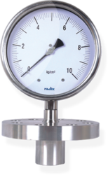 Extended Flange And Extended Sealed Unit Pressure Gauge