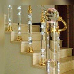 Full Glass Stairs