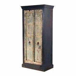 Old Door Wooden Almirah