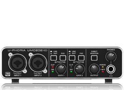 Audiophile 2x2, 24-Bit/192 kHz USB Audio Interface with MIDA