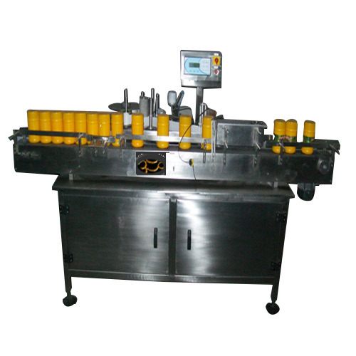 Fully Automatic Bottle Labeling & Gumming Machine
