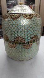 Designer Meenakari Pot