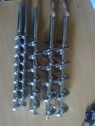 Small Diameter Stainless Steel Augers Milled From Solid