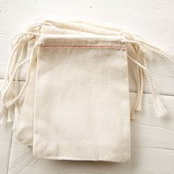 Stitched Cotton Fabric Bags