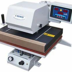 Impress Automatic T-shirts Heat Press Machine, 220 V, Size: L24W21H24