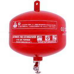 Mild Steel A B C Dry Powder Type Modular Fire Extinguisher, for Industrial, Capacity: 5Kg