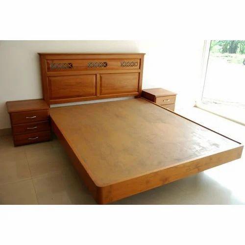 Teak Wood Bed At Rs 35000 Piece Teak Bed Id 14071796988