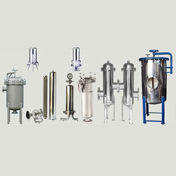Stainless Steel Semi-Automatic And Automatic Water Filter, For Home And Commercial
